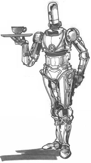 3D-4X Administrative Droid