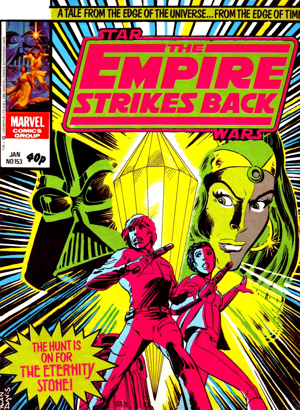 The Empire Strikes Back Monthly 153