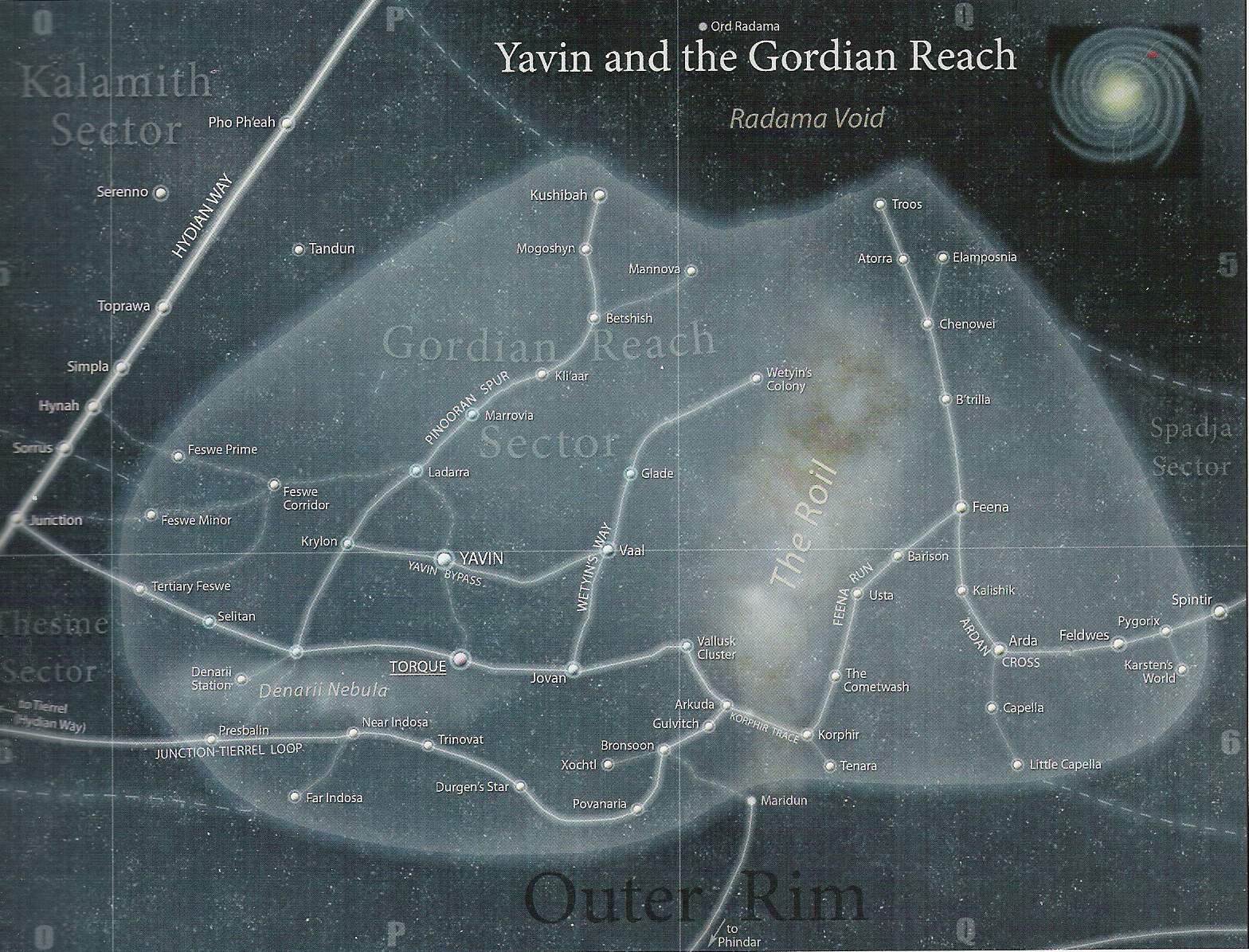 Gordian Reach/Legends