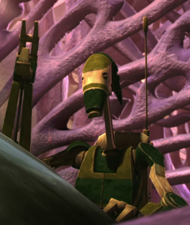 Unidentified AAT driver battle droid