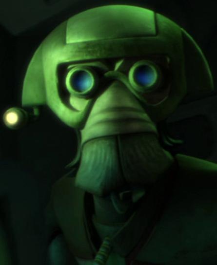 Unidentified Aqualish technician