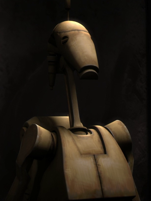 Unidentified B1 battle droid sergeant (Ryloth)/Legends