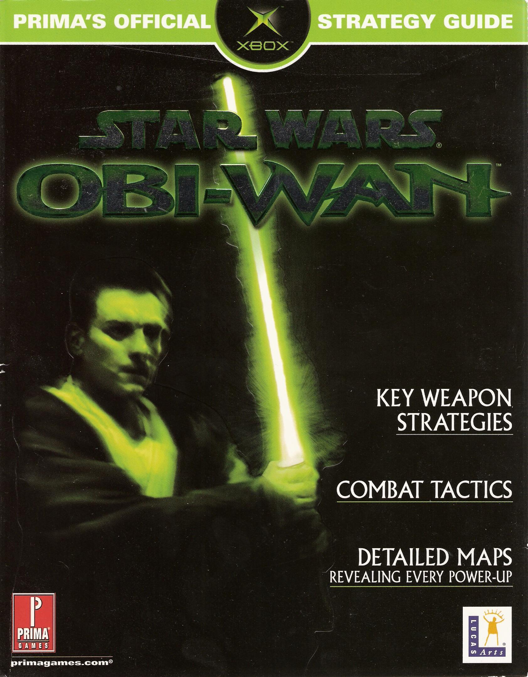 Obi-Wan: Prima's Official Strategy Guide