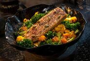Oven-roasted Burra Fish