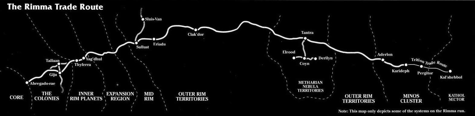 Rimma Trade Route/Legends