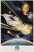 Star Tours poster Kriegler