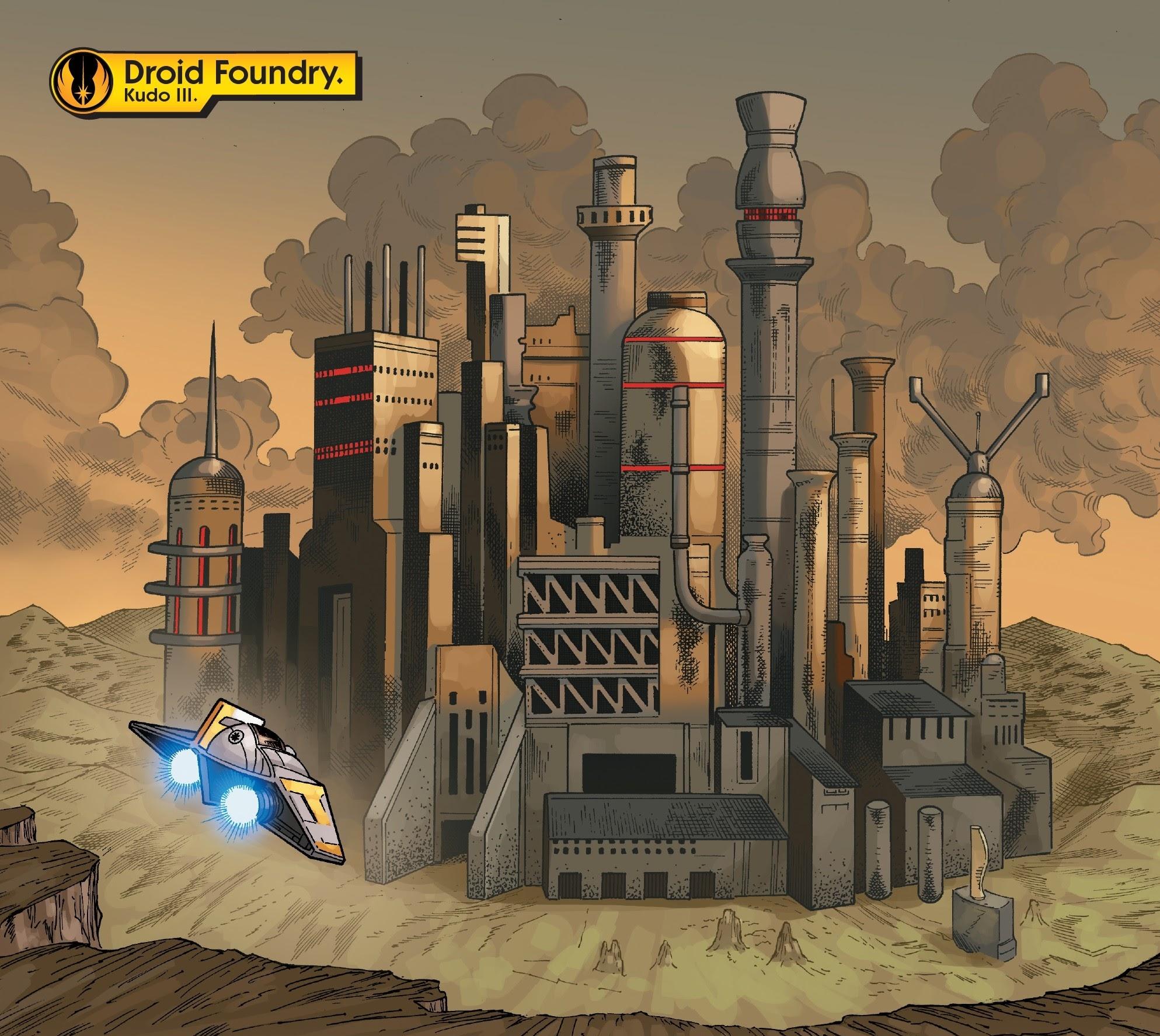 Kudo droid foundry