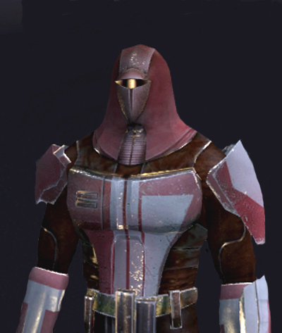 Unidentified Mandalorian commander