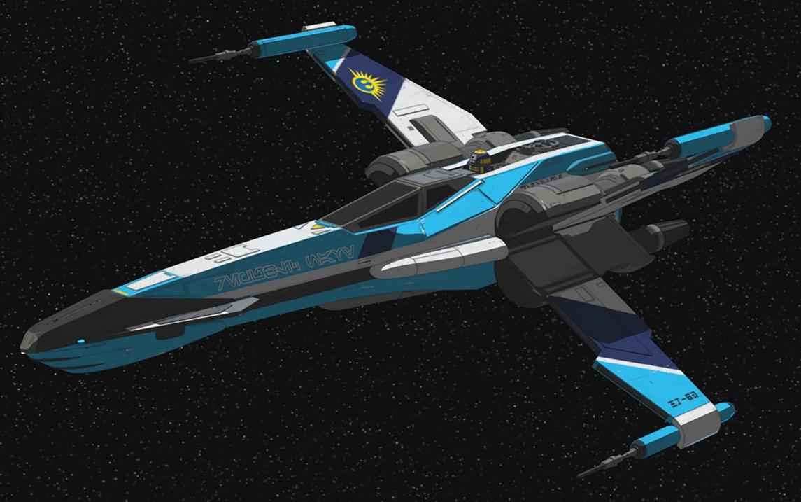 T-85 X-Wing Starfighter