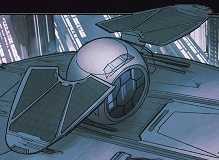 Imperial starfighter prototype