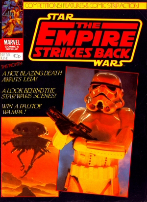 The Empire Strikes Back Monthly 158