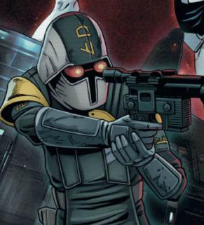 Unidentified Coruscant underworld police officer