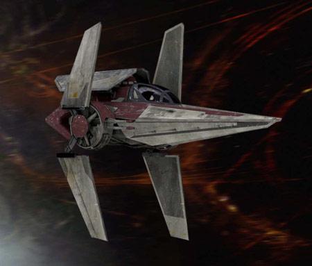 Alpha-3 Nimbus-class V-Wing Starfighter