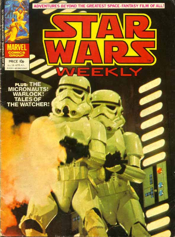 Star Wars Weekly 58