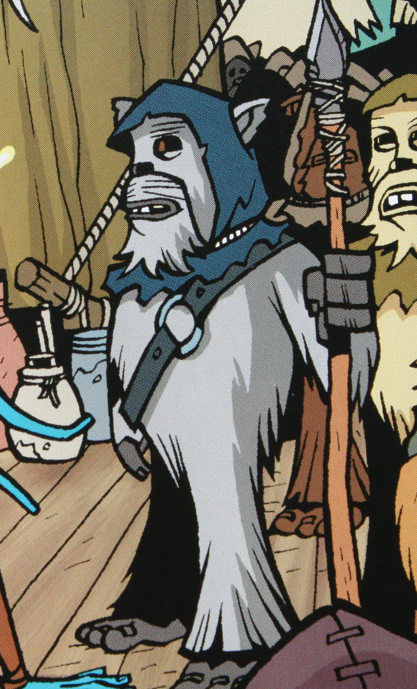Unidentified Ewok scout (Clone Wars)