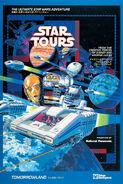 Star Tours TDL poster
