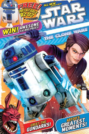 Star Wars: The Clone Wars Comic UK 6.23