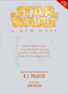 Episode IV Canon Novel Cover Palacio
