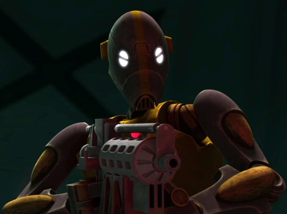 Unidentified BX-series droid commando captain (Citadel)