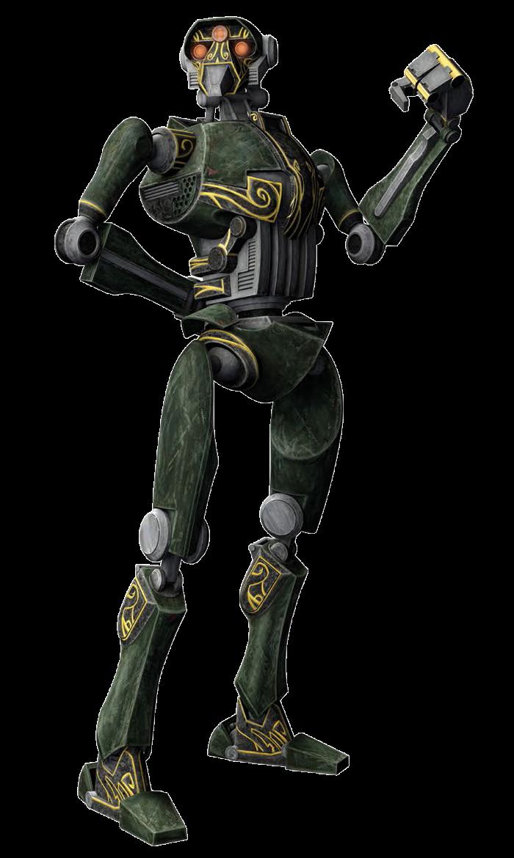 ST-series super tactical droid