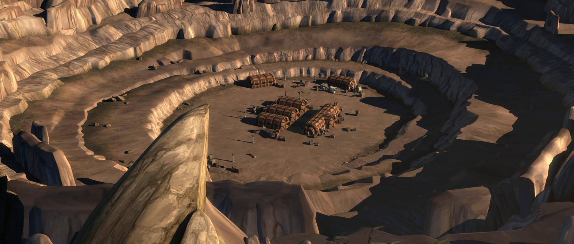 コンコーディアの鉱山