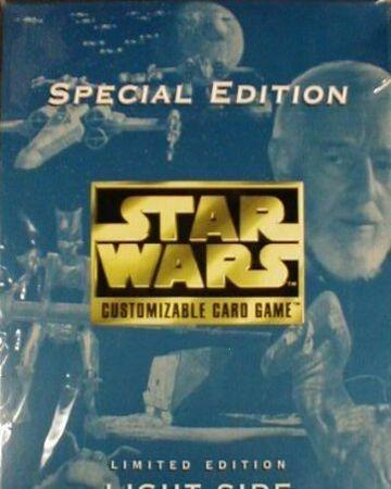 Star wars ccg édition spéciale se enracinement SWCCG