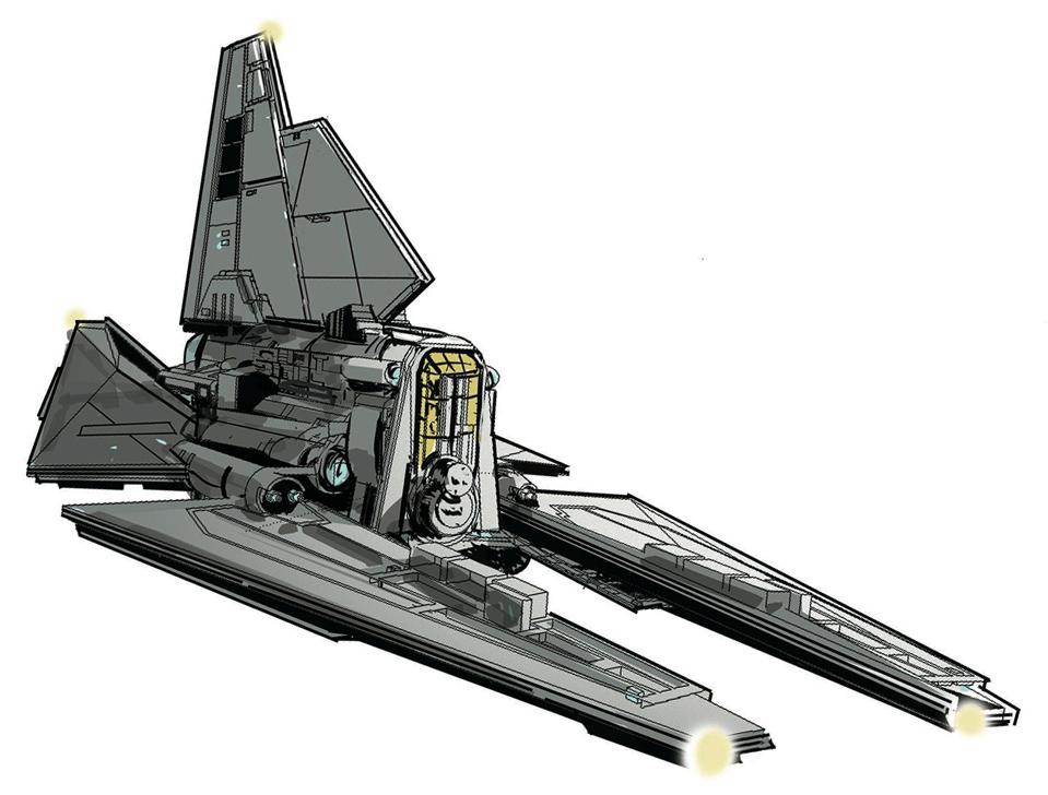 Unidentified Nune-class shuttle variant