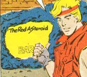 The Red Asteroid