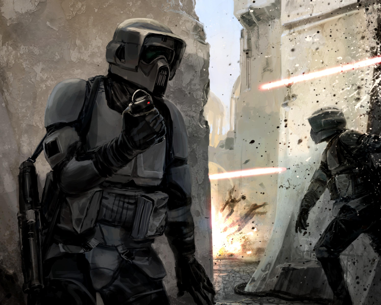 Unidentified scout trooper (Fragmentation grenade)