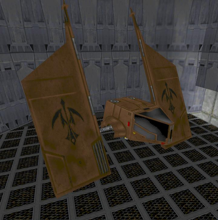 Alpha-52 starfighter