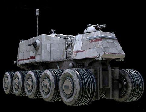 HAVw A6 Juggernaut Troop Carrier