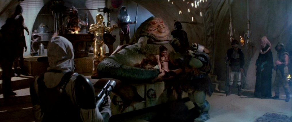 Jabba's Throne Room
