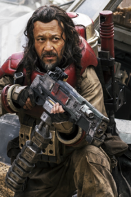 Baze Malbus with his Heavy repeater cannon.