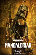 Boba Fett The Mandalorian Poster