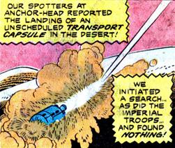 Transport capsule