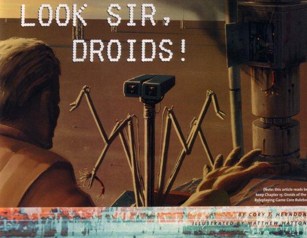 Look Sir, Droids!