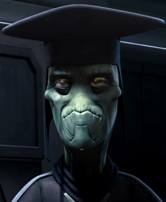 Unidentified Neimoidian envoy