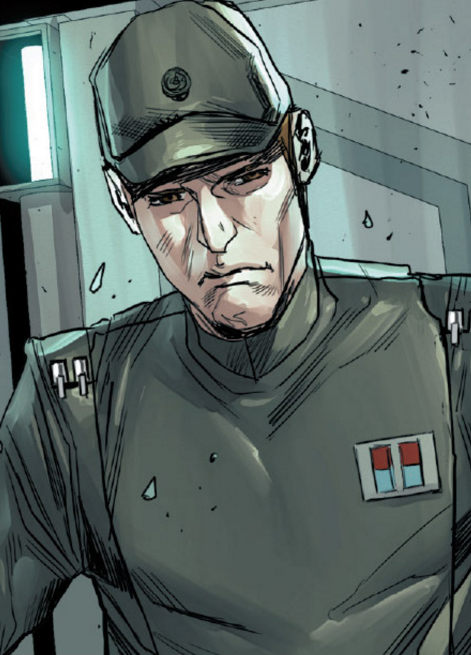 Unidentified Imperial base commander
