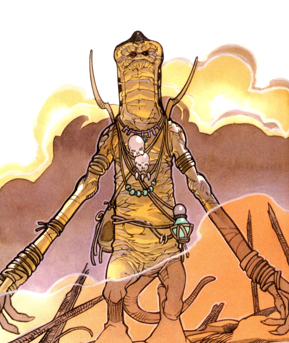 Unidentified Amani chief