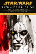 Darth Bane Path of Destruction Essential Legends Edition cover