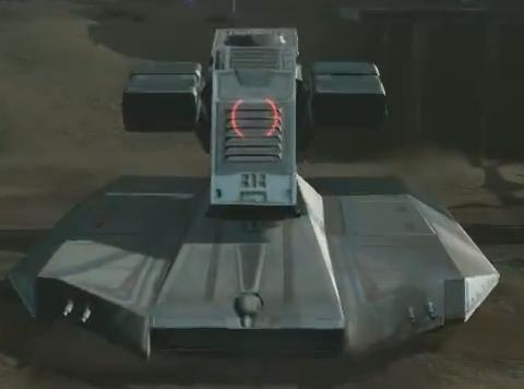 Prototype hover tank