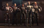 Clone Force 99 plus Echo