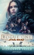 Rogue One novelization German ebook cover
