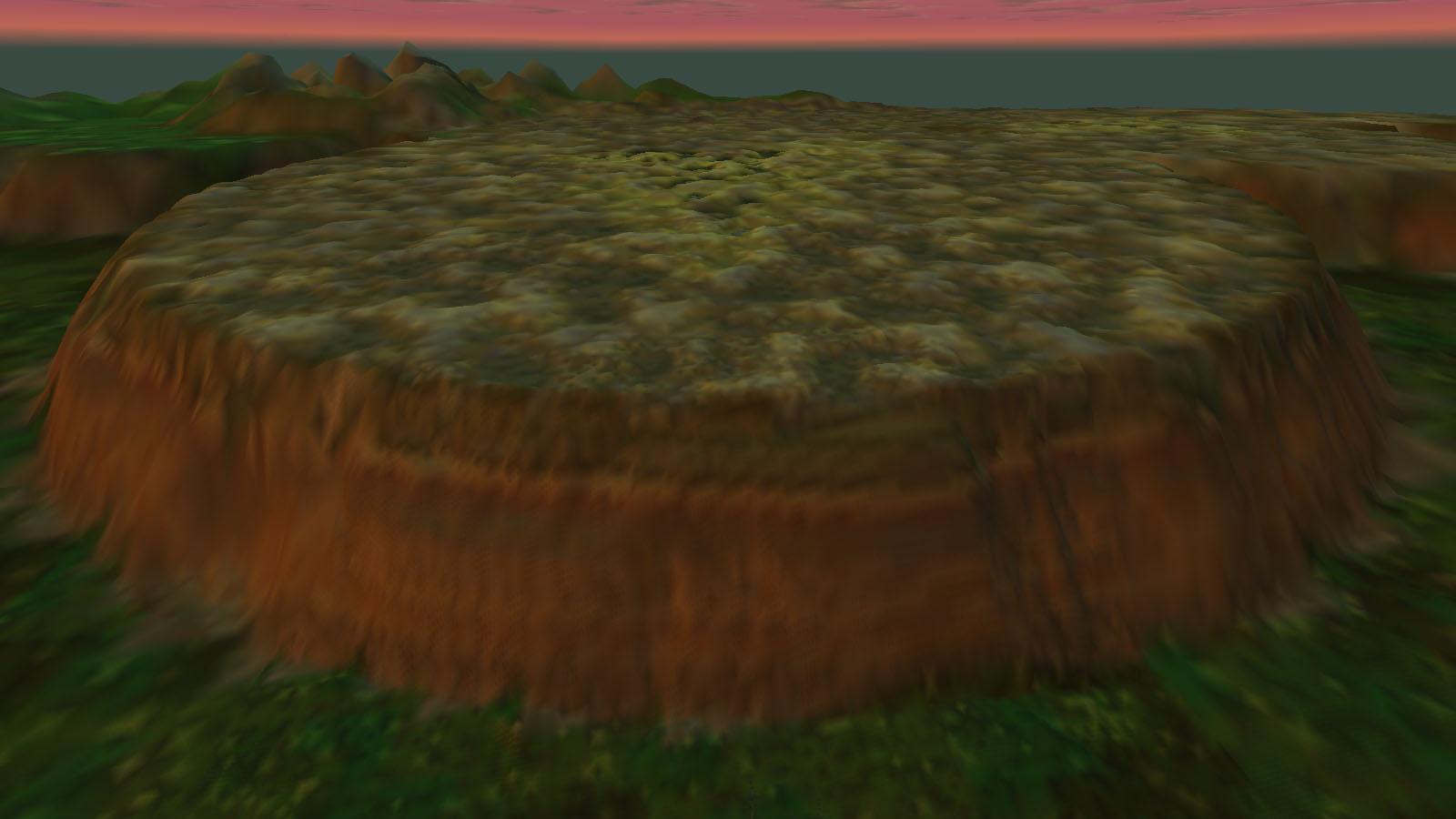 Yawari Cliffs