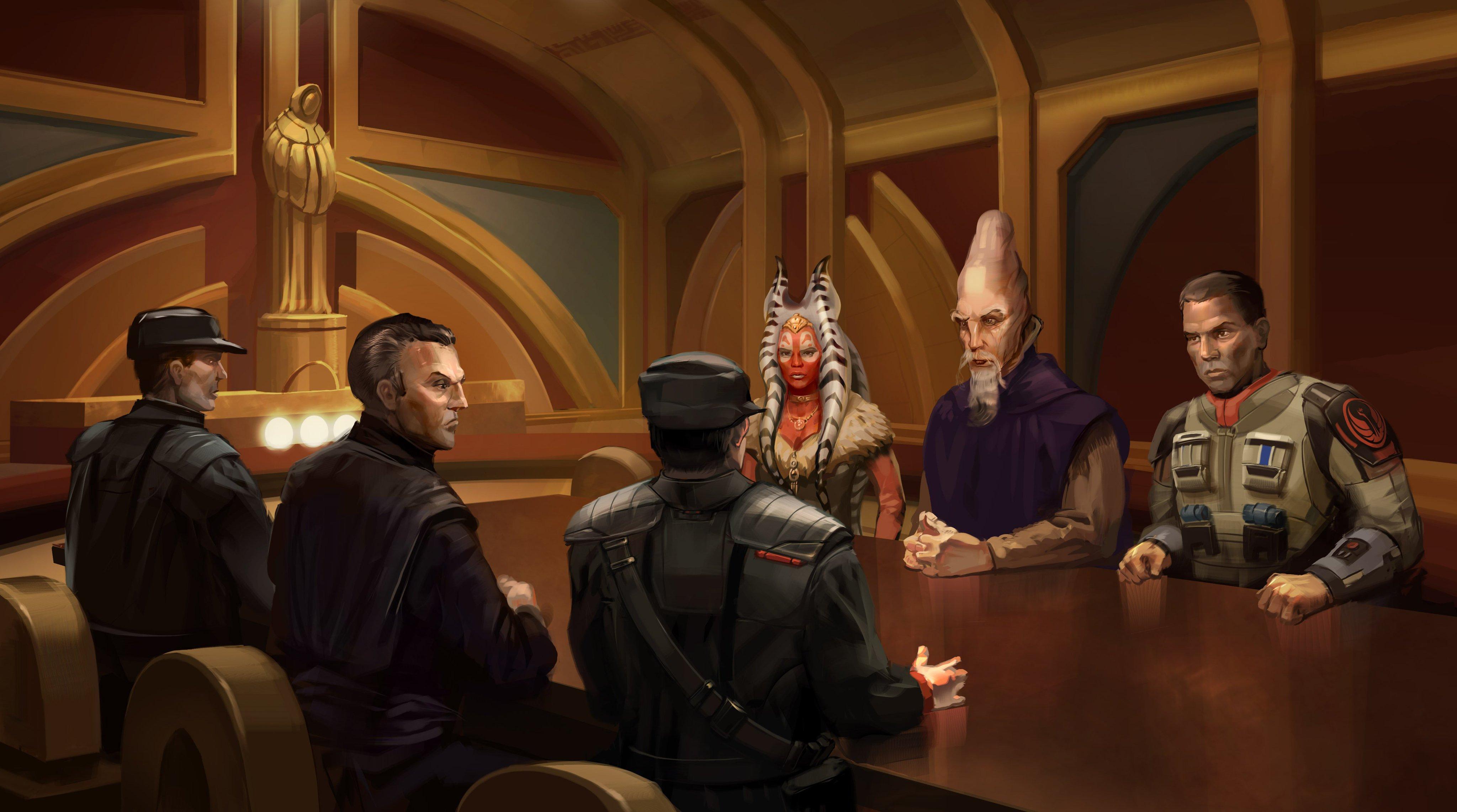 Alderaan peace conference