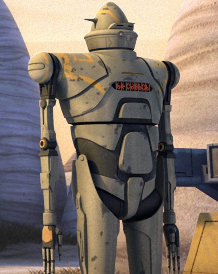 IG-RM bodyguard and enforcer droid