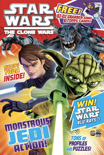 Star Wars: The Clone Wars Comic UK 6.24