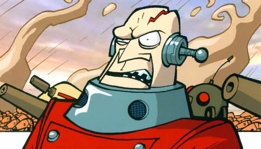 Cyborg Separatist commander