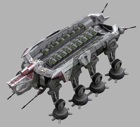 All Terrain Open Transport