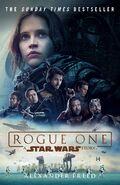 Rogue One novelization UK paperback front cover